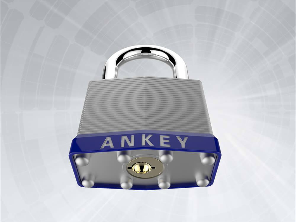 Laminated Steel padlock