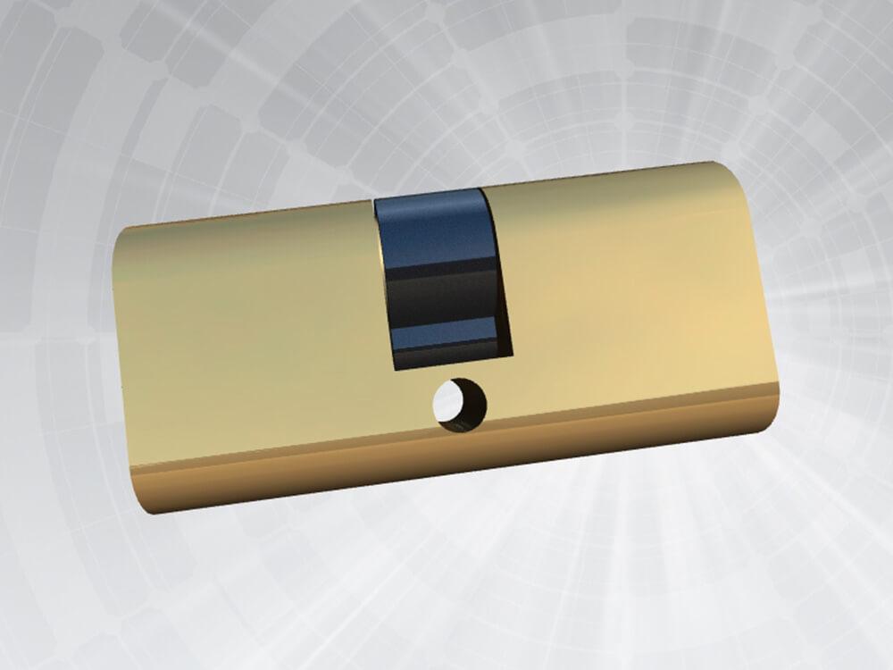 Oval Cylinder Lock